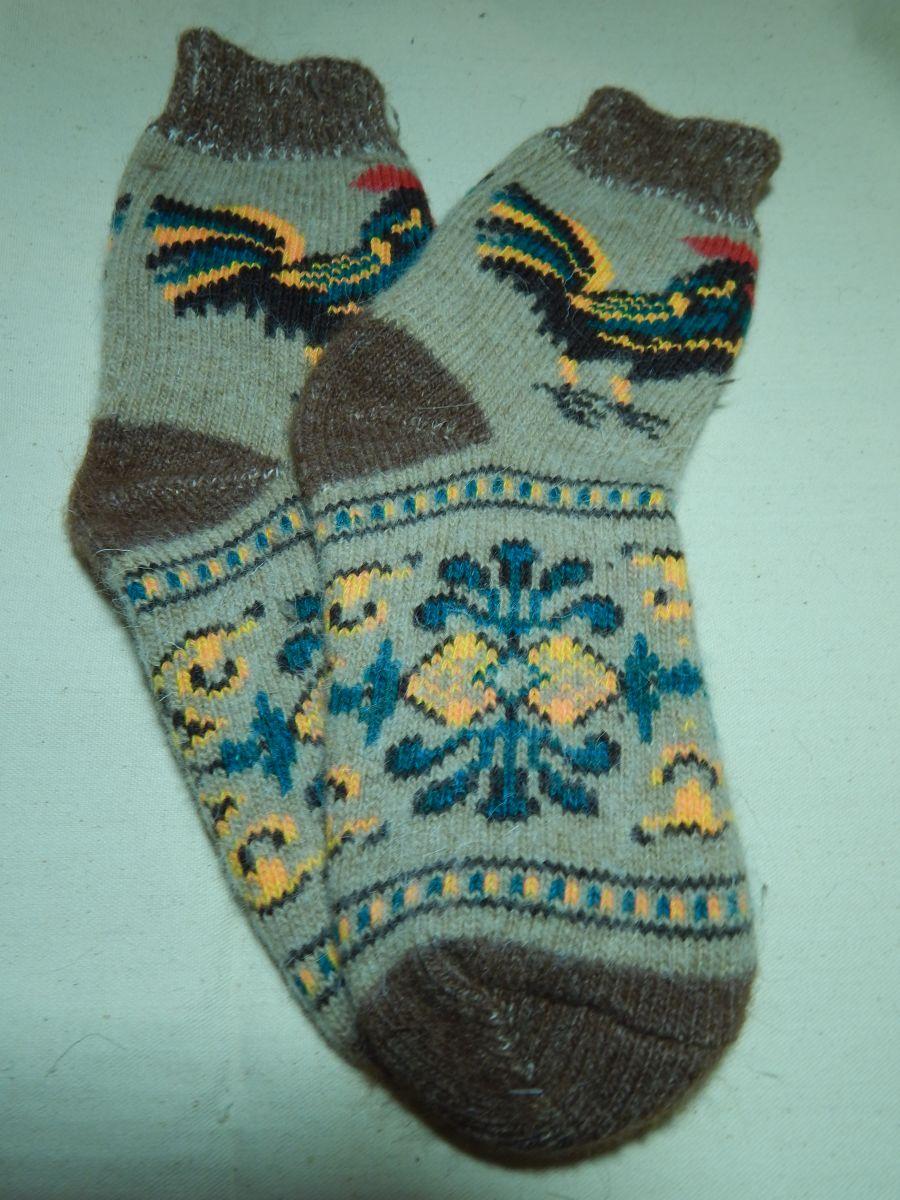 Носки женские с петушком